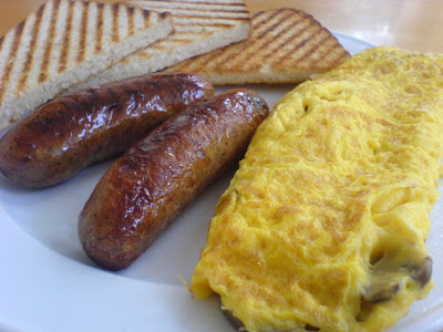 Simply Bread, sausage breakfast