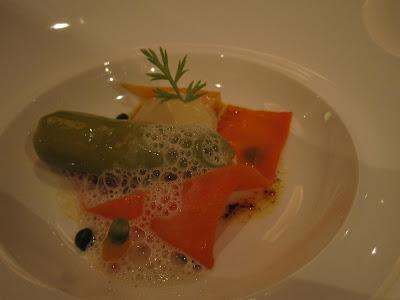 Saint Pierre, lobster cannelloni
