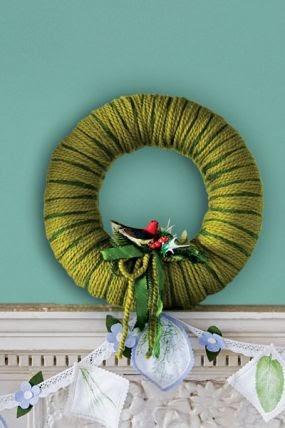 Corona de navidad para la puerta - Coronas de navidad para puertas ...