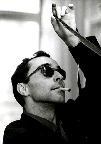 French New Wave auteur Jean-Luc Goddard