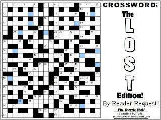 Cool New LOST Crossword!