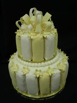 white trash wedding cake i do x2 white trash wedding cake 27327