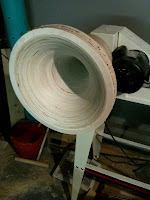 320 Hz Round Tractrix Horns - DIY Firefly