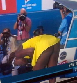 Something is. Serena williams butt naked remarkable