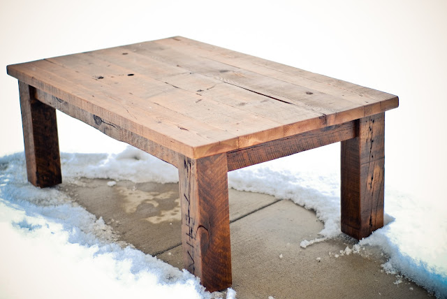 Lg Custom Woodworking Reclaimed Wood Coffee Table And Futon Frame