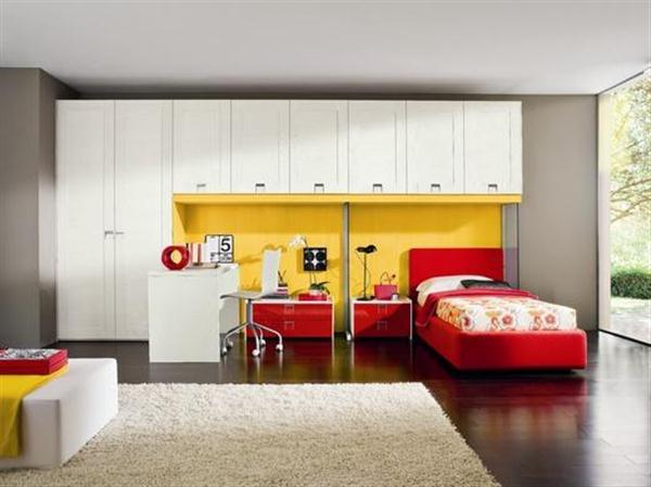 Uzumaki Interior Design: Modern Fantastic Colour Kids Bedroom