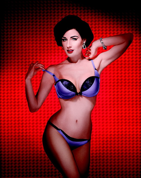 Dita Von Teese — the queen of underwear