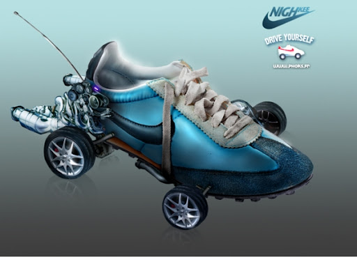 Footwear on wheels by WOW Barbie
