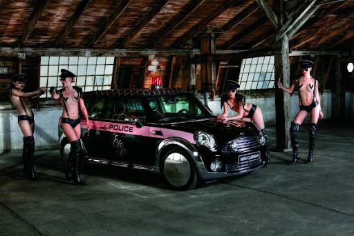 MINI Clubman prefers Agent Provocateur