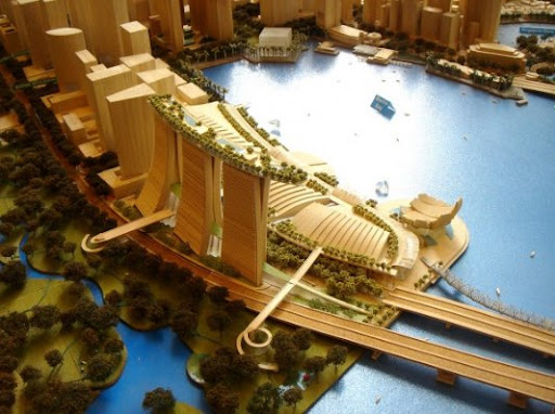 Presentation of the Singapore Сasino «Marina Bay Sands»