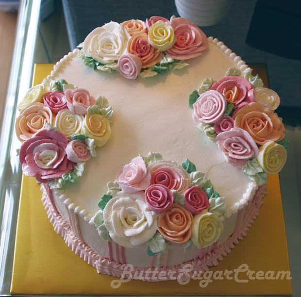 Cake Decorating Journal Lesson 6 Ribbon Roses And Strings