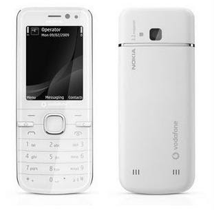 Nokia 6730 Classic White overview