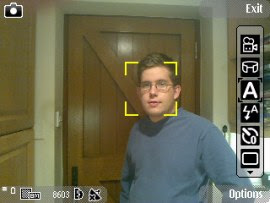 Nokia N86 face detection feature