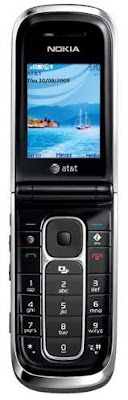 Nokia 6350 fold phone announced by AT&T