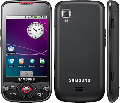 Samsung I5700 Galaxy Spica black  overview