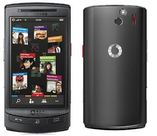 Vodafone 360 H1 mobile phone overview