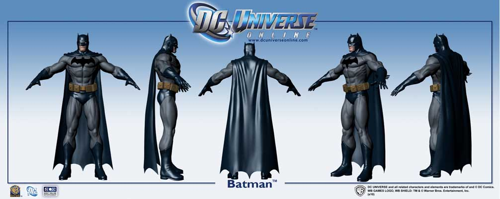 Sony Online Entertainment divulgou imagens e um vídeo de DC UNIVERSE