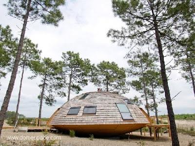 Casa domo exterior
