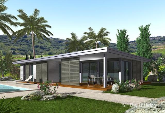 Casas de madera prefabricadas construccion en seco casas - Construccion de casas modernas ...