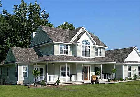Arquitectura De Casas Casas Campestres Americanas