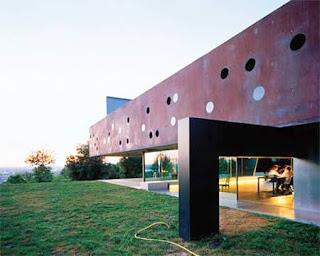 Residencia francesa de diseño muy avanzado y original