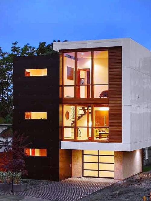 Residencia de estilo Contemporáneo en Estados Unidos