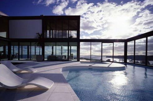 Residencia de arquitectura actual de Nueva Zelanda