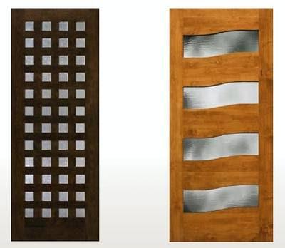 Arquitectura de casas puertas residenciales contempor neas for Casas modernas con puertas antiguas