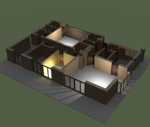 Casa en 3D - Imagen de www.sxc.hu