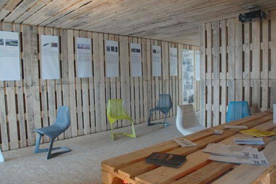 Arquitectura de casas casa econ mica de madera hecha con for Piani casa economica da costruire