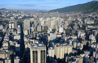 Ciudad de Caracas imagen del sitio www.mipunto.com