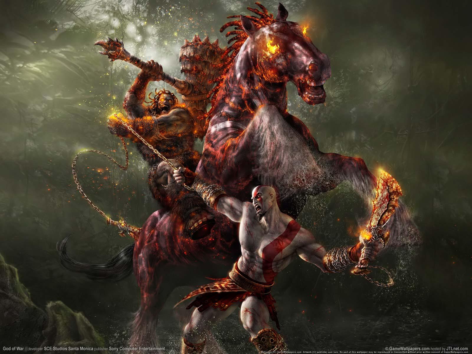 Hd Wallpapers Hd God Of War 3 Wallpaper Of Kratos