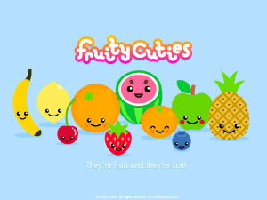 Fruity Cuties - Kawai Cartoon! - Selina Wing - Deaf Geek ...