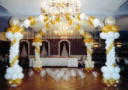 Globos Para Tu Boda Decoracion Con Globos Para Eventos Y Fiestas - Adornos-con-globos-para-bodas