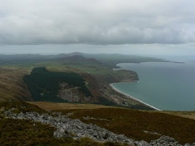 The Lleyn peninsula from Yr Eifl