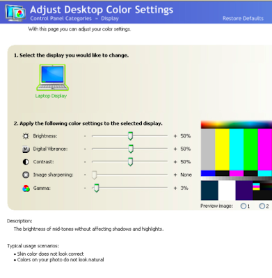 Digital Color Settings: Display Color Calibration on a PC