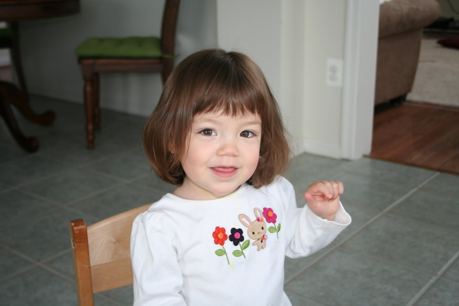 The Once A Year Blog: Claire's First Haircut