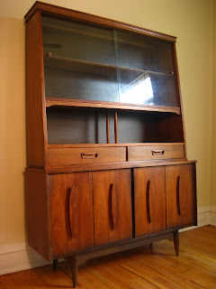 Flatout Design Garrison Credenza China Hutch