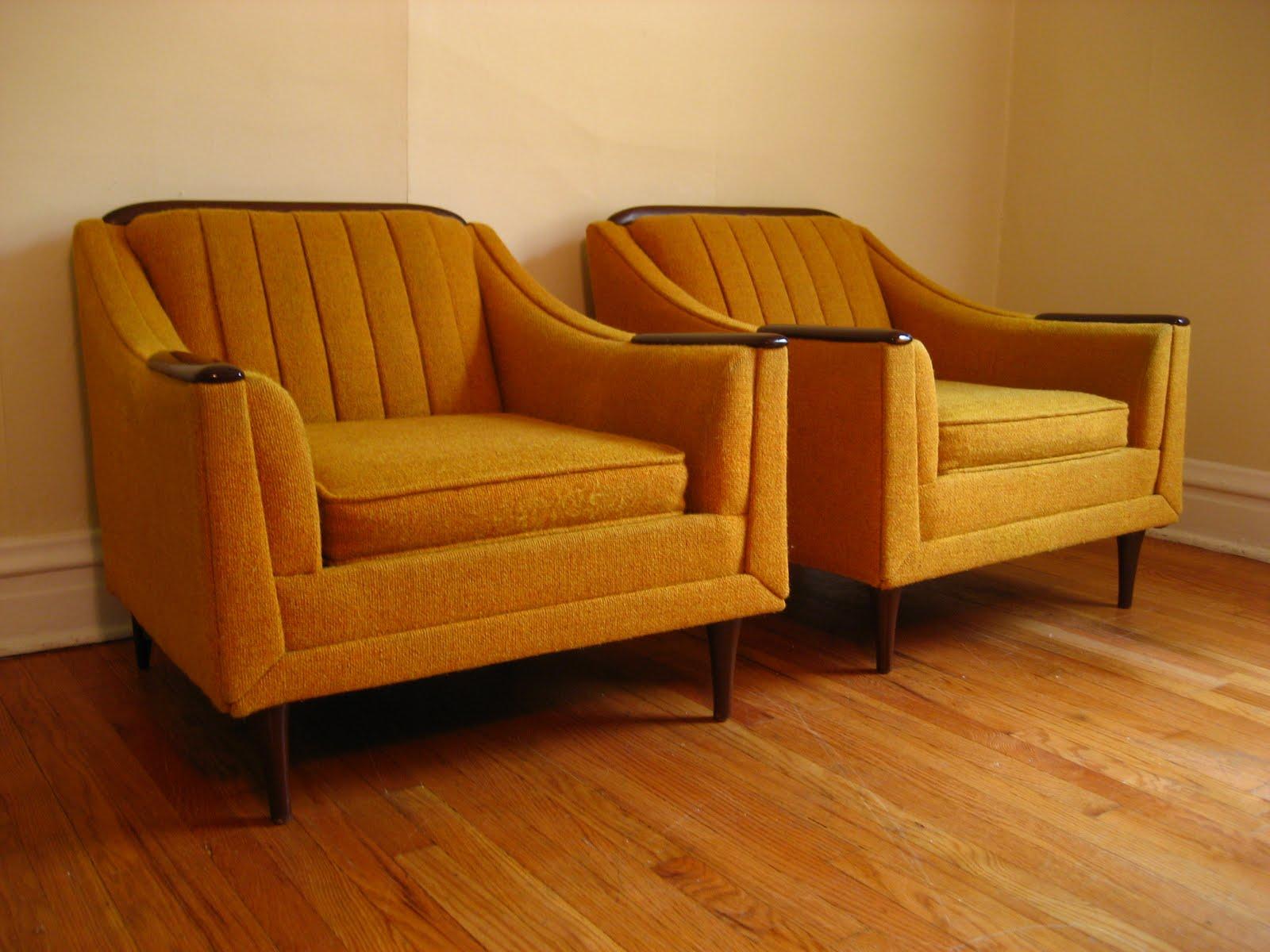 Flatout Design Mid Century Modern Lounge Chairs
