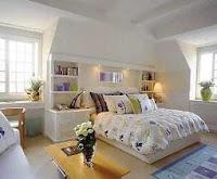 La cama del dormitorio principal