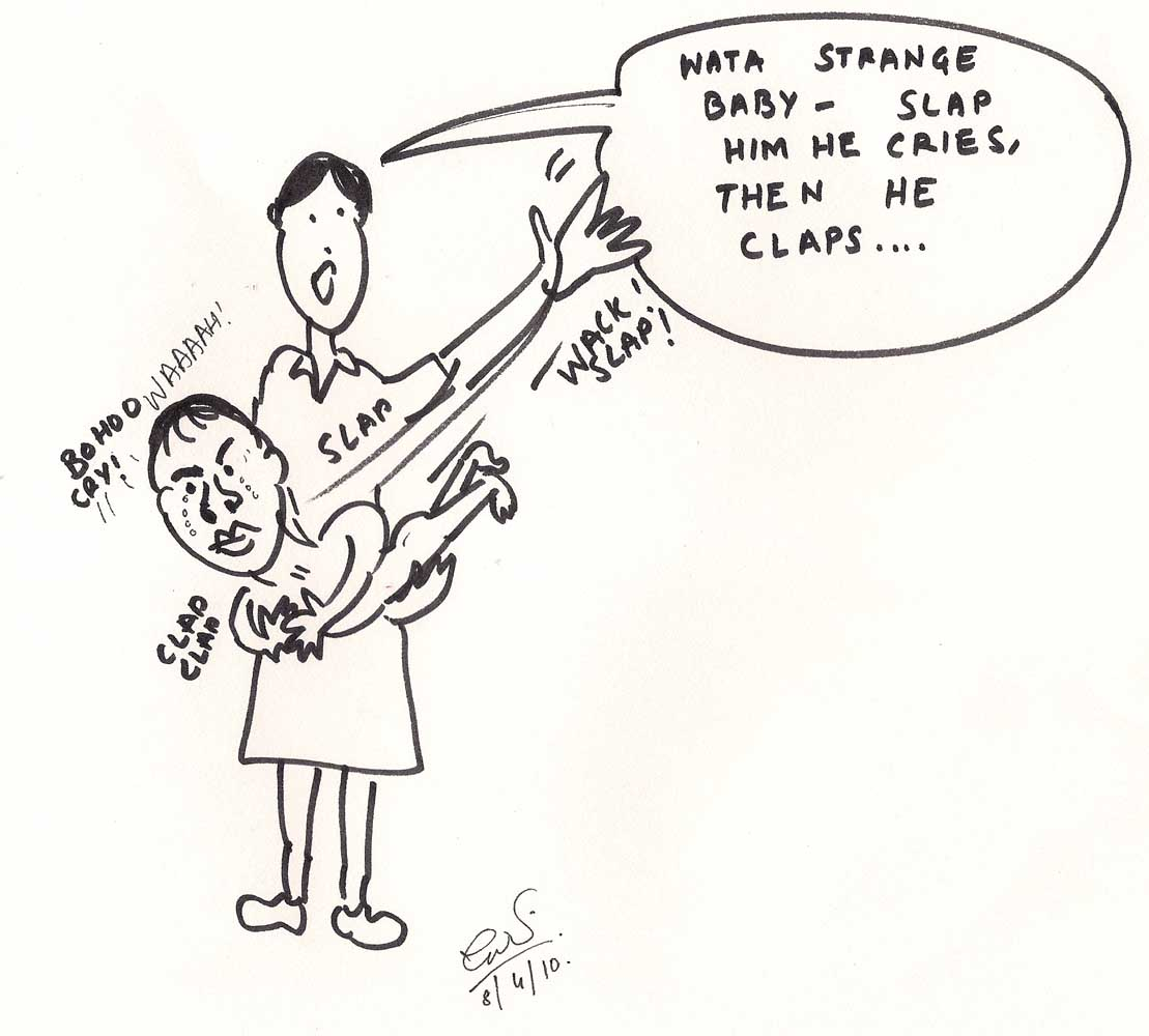 Cartoon: Sreesanth's problems traced to early childhood