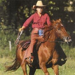 chaps equitation cuir