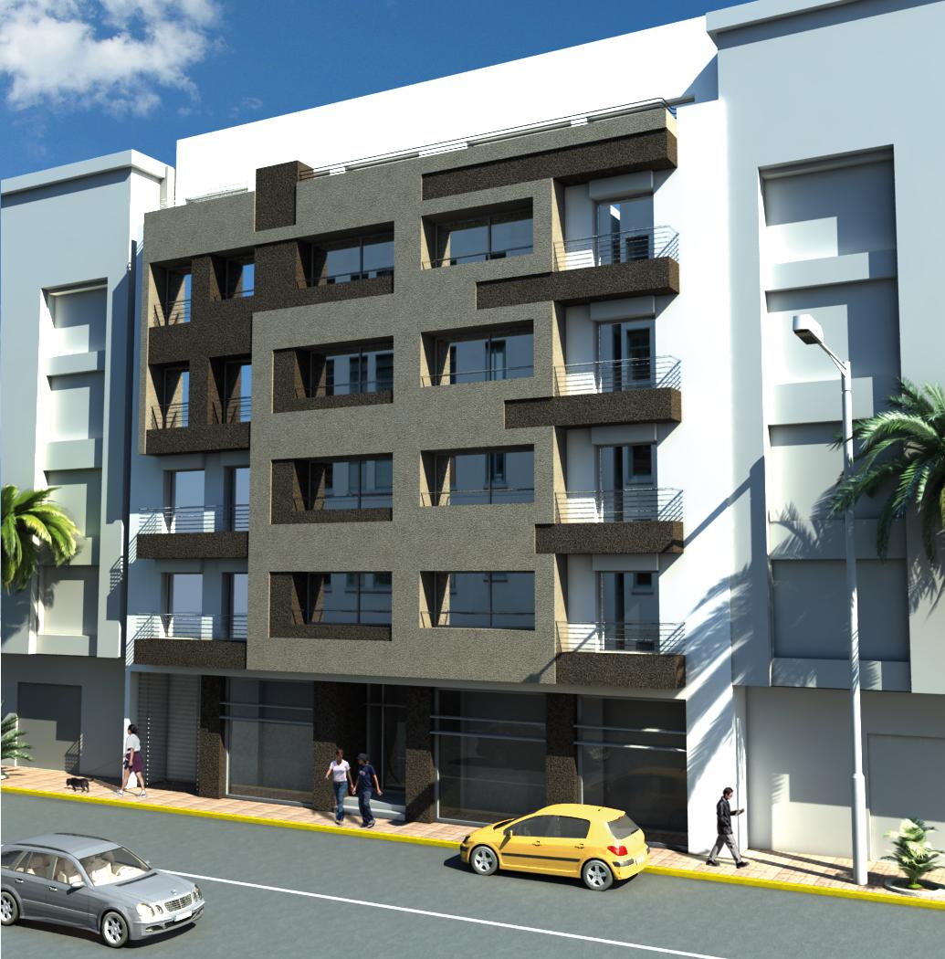 portfolio kw v 0 1 facade immeuble miahi. Black Bedroom Furniture Sets. Home Design Ideas
