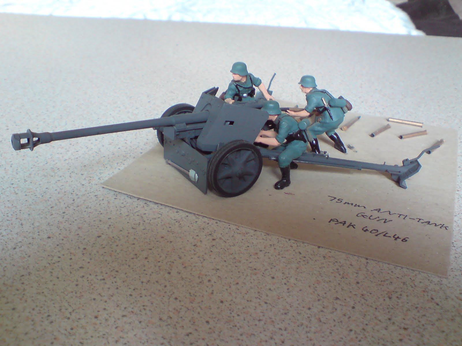 German 50 Mm Anti Tank Gun: My Armour Models Collection: What No Diorama?