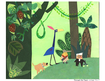 "Mosscovered Blog: ""UP"" Children's book sample Art"