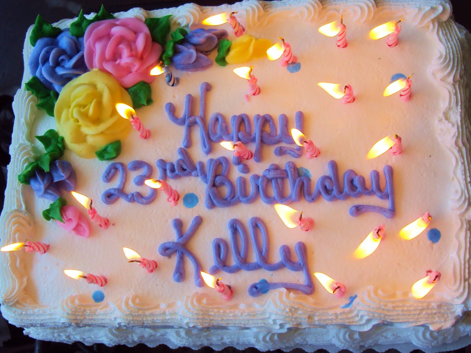 Sweet Serendipity Happy Birthday Kelly