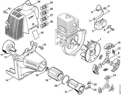 Spare Parts For Machinery of Garden / Repuestos Para