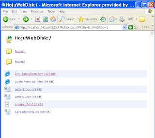 The Hoju Saram: C# Webdav server with SQL Backend Source Code