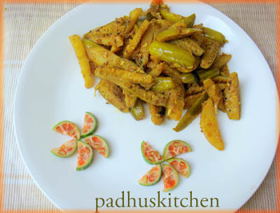 tindora recipe-Ivy gourd curry-kovakkai curry