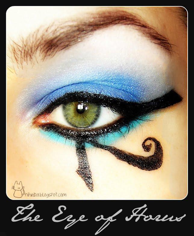 Eye of horus makeup